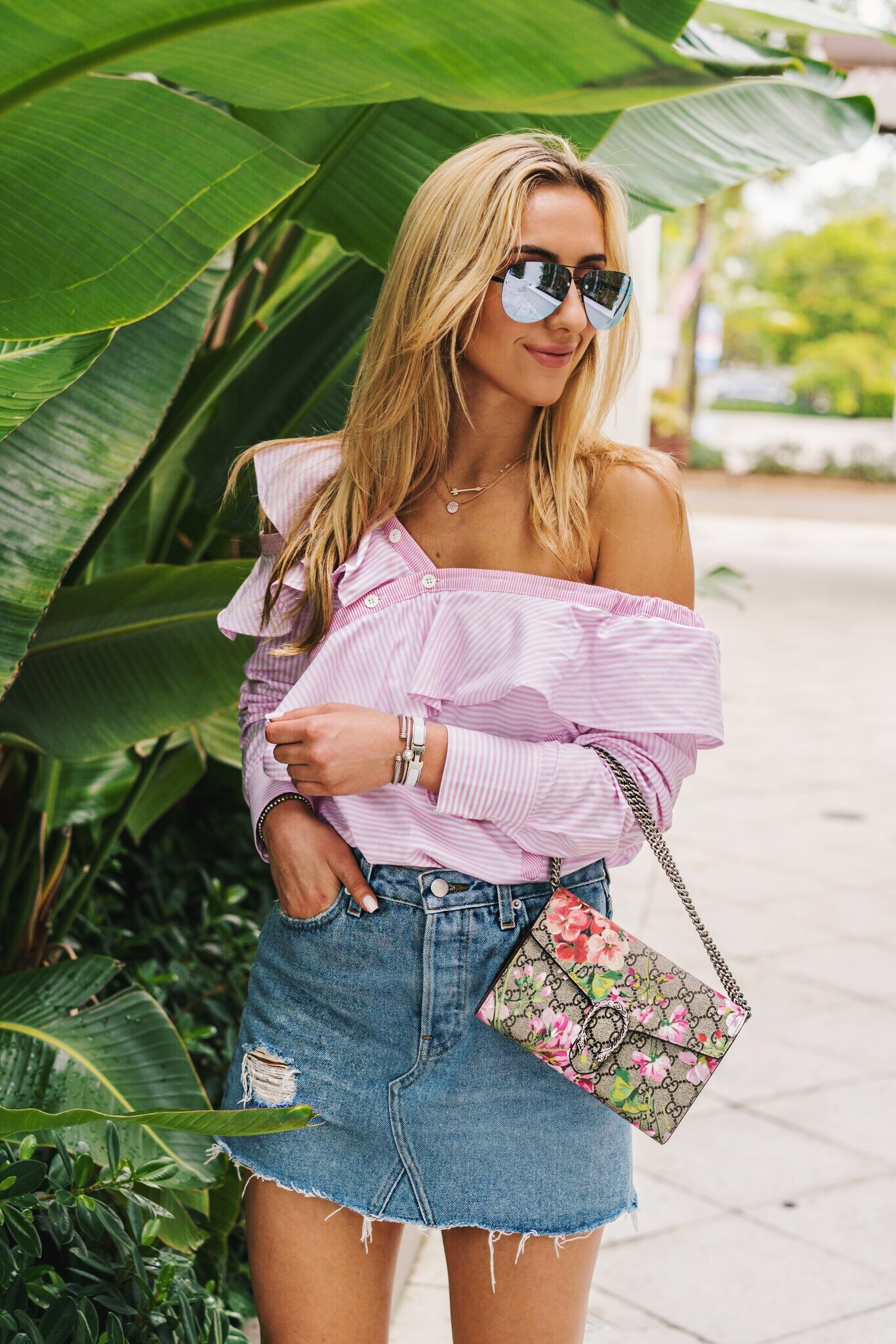 Ruffle Top by Style Keepers