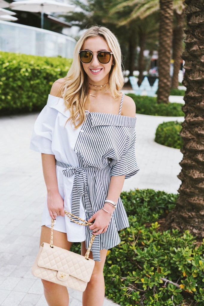 contrast-shirt-dress-shein